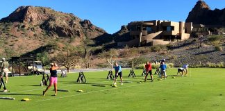 INAUGURAN CLUB DE GOLF EN LORETO