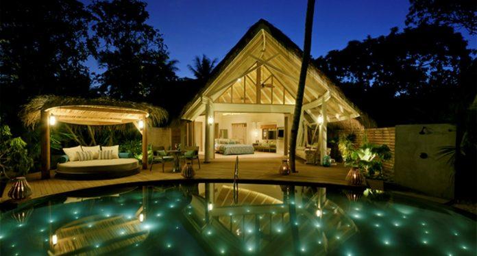 Villas del Resort Milaidhoo en Isla de las Maldivas