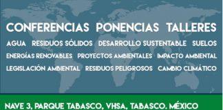 CELEBRA TABASCO CONGRESO DE INGENIERÍA AMBIENTAL