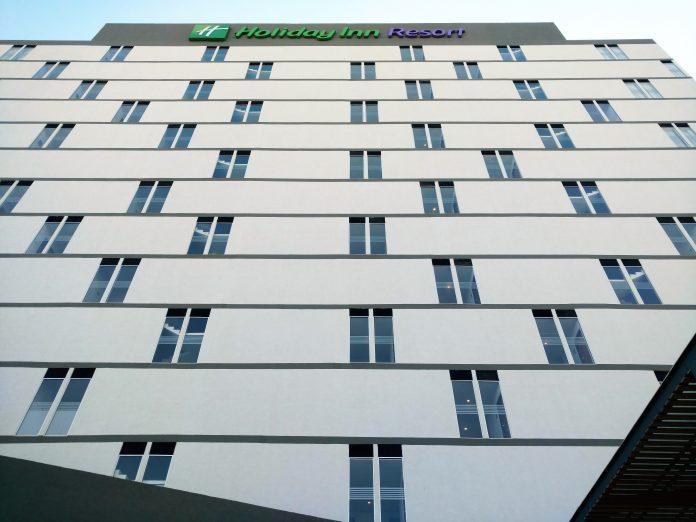 Fachada Hotel Holiday Inn Resort Mazatlan