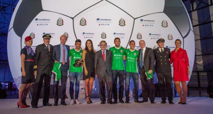Aeroméxico y Delta se unen con la Federación Mexicana de Futbol. Foto: Univisión