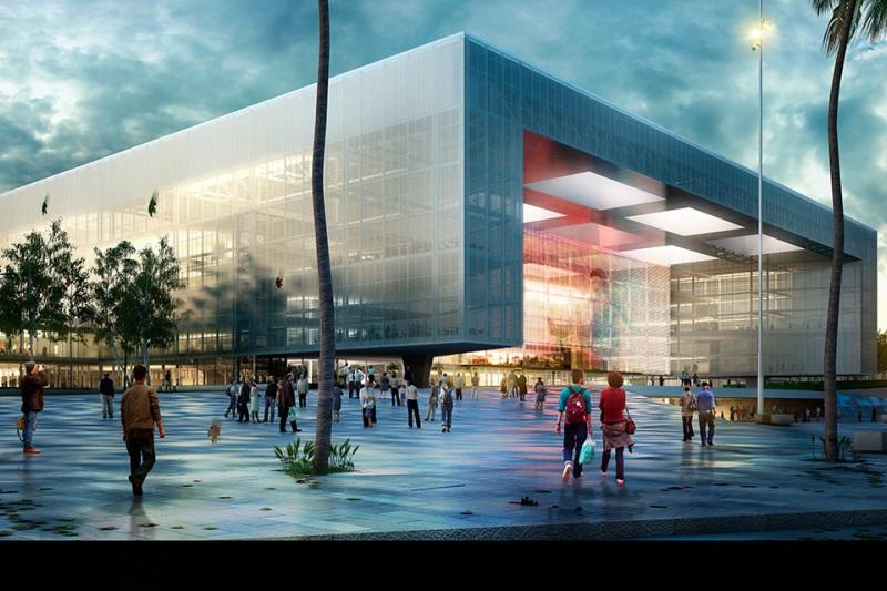 Antel Arena de Montevideo se inaugurará en 2018. Foto: Antel