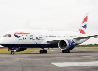 BRITISH AIRWAYS RECIBIÓ SU 25° DREAMLINER