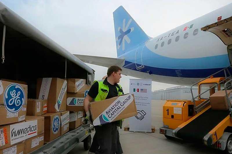 Interjet formó parte de las brigadas humanitarias en apoyo a los afectados por el sismo