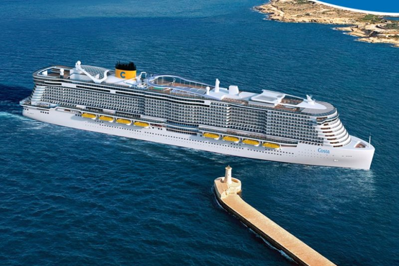 Costa Cruises es una de las 8 navieras más importantes en esta alianza
