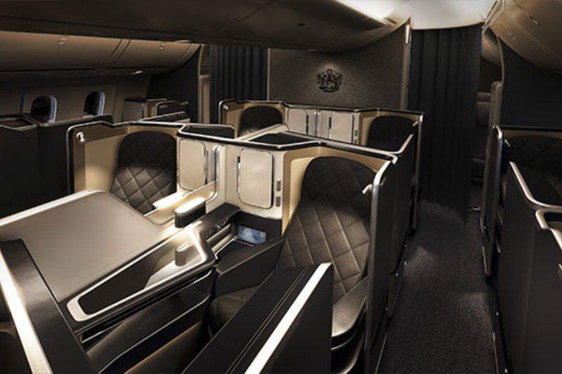 Cabina First Class British Airways Dreamliner 787