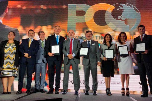 En el marco del evento, cinco empresas recibieron su certificación bajo el sello PCO