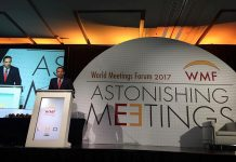 ICCA anuncia actividades para World Meetings Forum 2018