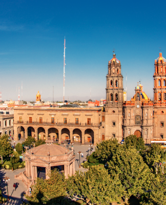 """Declaran al Centro Histórico de San Luis Potosí """"Patrimonio Mundial"""""""