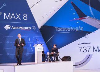 Aeroméxico recibe el primer Boeing 737 MAX 8