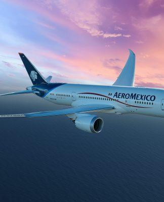 Aeroméxico celebra 20 años de la ruta CDMX-Santiago de Chile