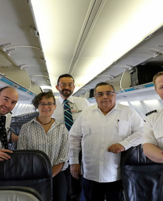 Mérida incrementa conectividad aérea