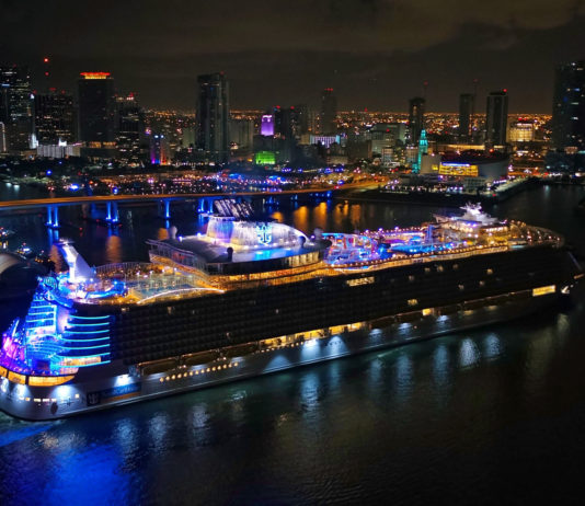 Symphony of the Seas debuta en Estados Unidos