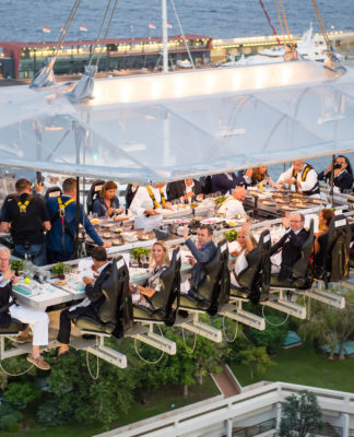 La experiencia Dinner in the Sky en Chapala