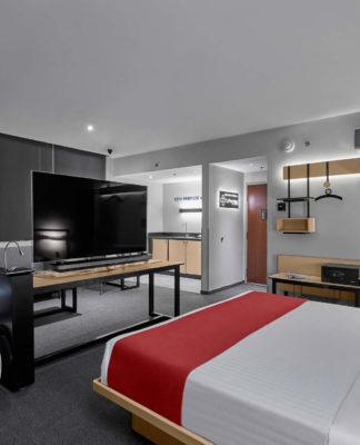 City Premios la habitación con tecnología de alta gama