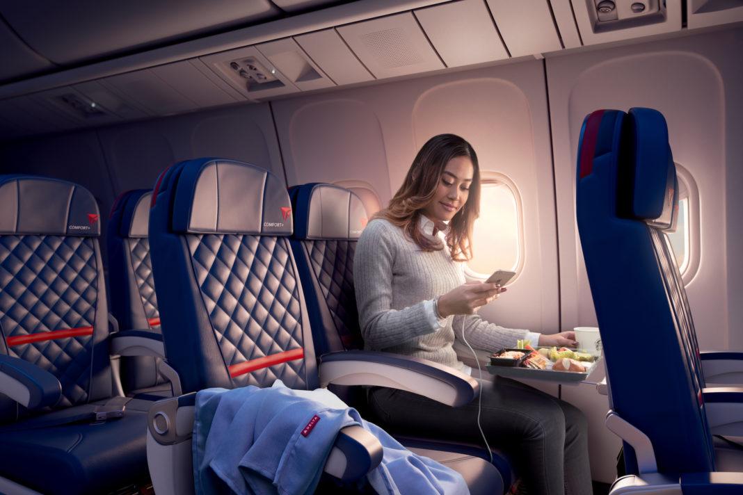 Wi-Fi a bordo: Delta Air Lines