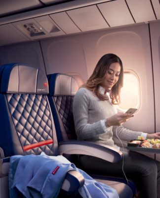Wi-Fi a bordo: Delta Air Lines