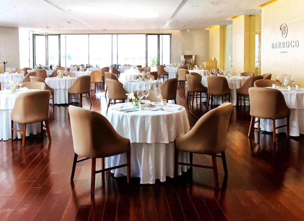 El restaurante ofrece una auténtica experiencia del huerto a la mesa. Barroco