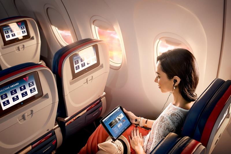 Delta lanzará IPTV para dar a los clientes la posibilidad de ver televisión en vivo.