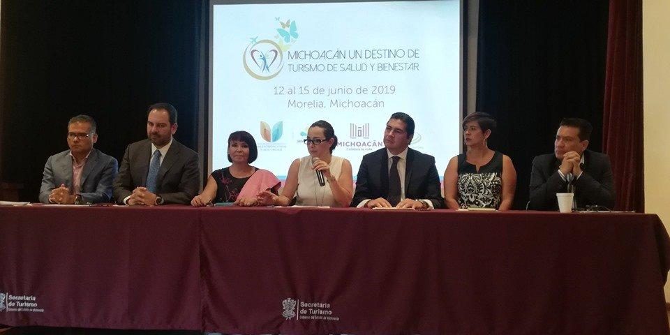 Conferencia de prensa Congreso de Turismo de Salud y Bienestar.