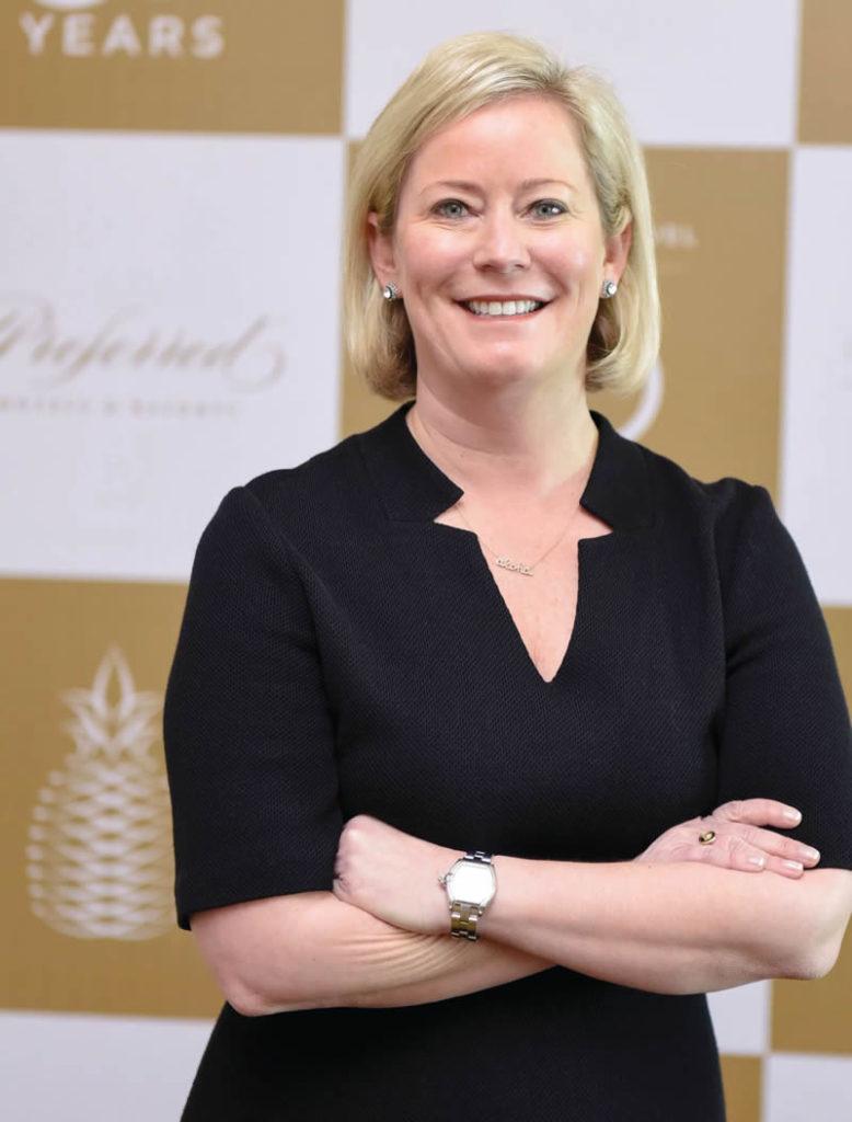 Lindsey Ueberroth, CEO de Preferred Hotels & Resorts.