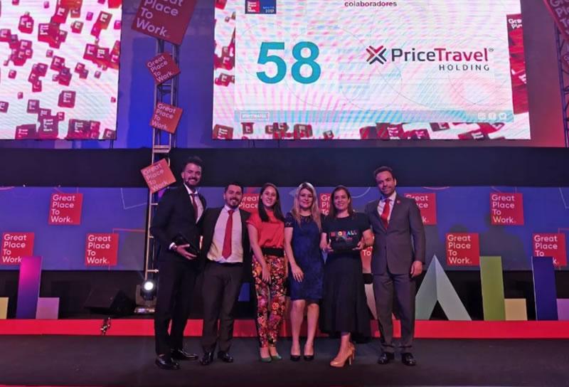 PriceTravel Holding se posicionó dentro de las mejores empresas para trabajar en México, de acuerdo a Great Place to Work.