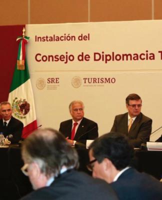 SECTUR Y SRE instalan el Consejo de la Diplomacia Turística.