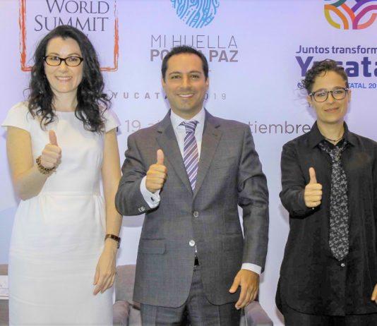 Confirman a los cinco primeros Nobel de la Paz para la Cumbre en Mérida.