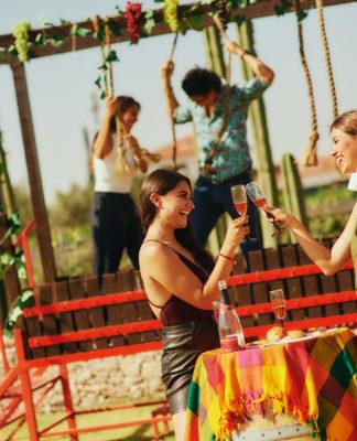 Crece la fiesta de la vendimia en Finca Sala Vivé