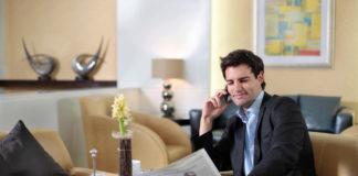 Viajeros de negocios son los más conscientes de su salud