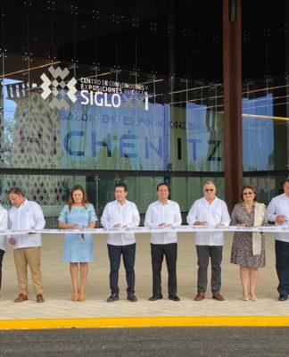 Inauguran el Centro de Convenciones Yucatán Siglo XXI