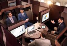 Vive la experiencia de Qsuite con Qatar Airways