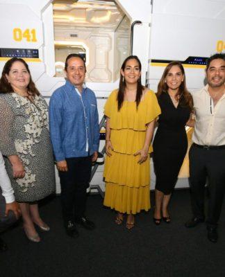 Inauguran el primer hotel cápsula en Quintana Roo