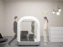 Lanzan cabinas de desinfección para hoteles