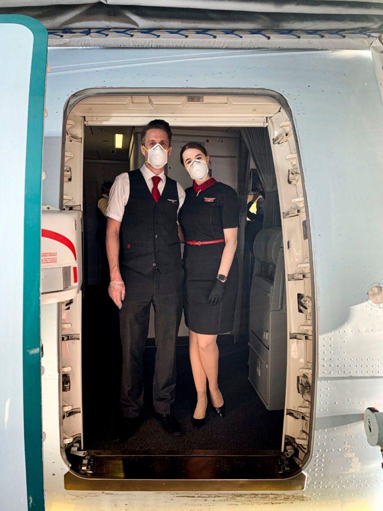 Air Canada a implementado alrededor de 25,000 kits de pruebas rápidas