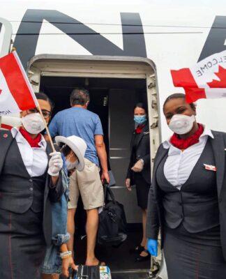 Air Canada apoya pruebas rápidas