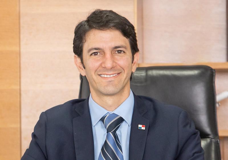 Iván Eskidsen, administrador general de la Autoridad de Turismo de Panamá