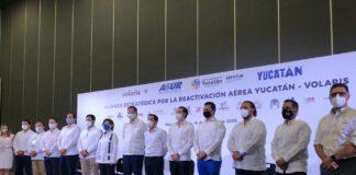 Yucatán y Volaris anuncian Alianza Estratégica