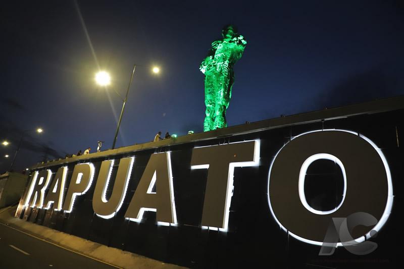 Monumento en la ciudad de Irapuato