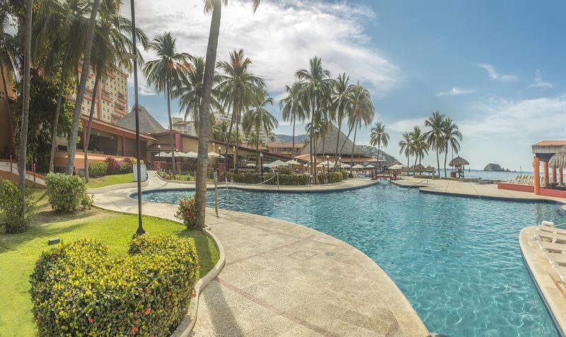 Holiday Inn Resort Ixtapa All Inclusive. Cortesía Grupo Presidente. Travacación
