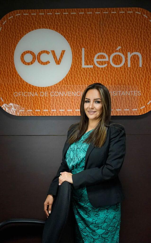 Ana María Valenzuela, directora de la Oficina de Convenciones y Visitantes (OCV) León