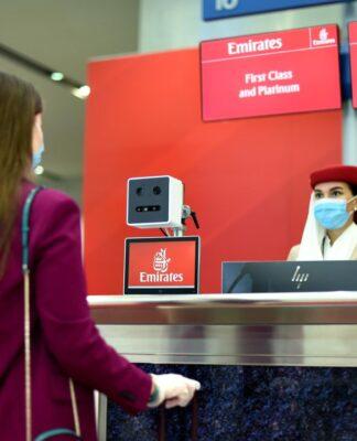 Emirates innova con ruta biométrica