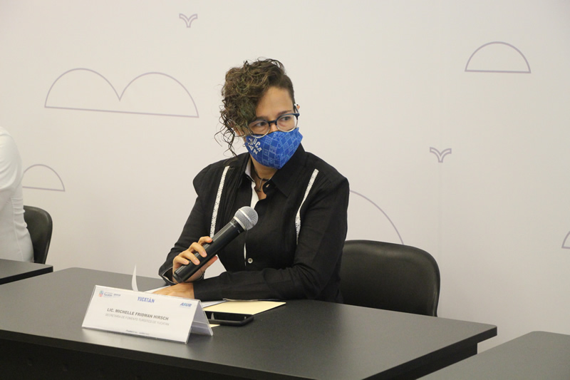 Michelle Fridman Hirsh, secretaria de Fomento Turístico.