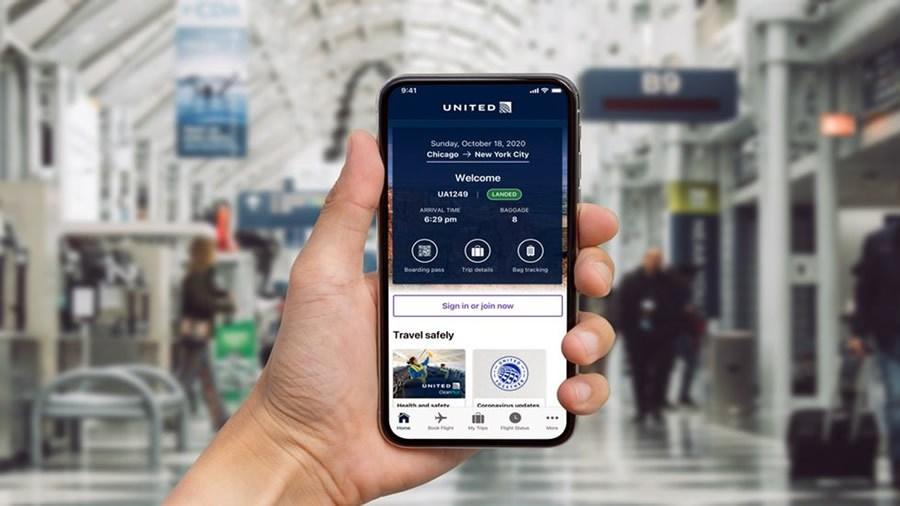 United Airlines rediseña su app móvil