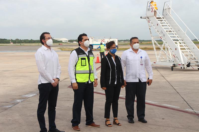 SEFOTUR confirma la ruta Houston–Mérida para diciembre 2020 y da la bienvenida al vuelo proveniente de Oaxaca con Volaris