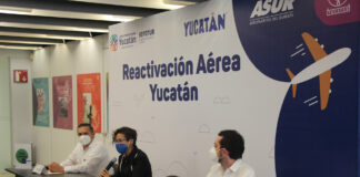 Yucatán confirma ruta Houston