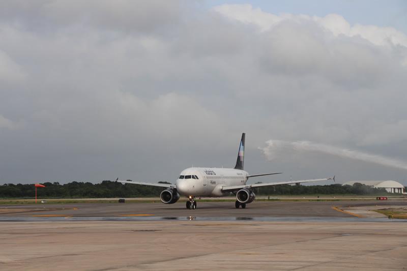 El vuelo de Oaxaca hacia Mérida, forma parte del Programa de Reactivación del Turismo Yucatán-Volaris que se anunció el mes pasado.