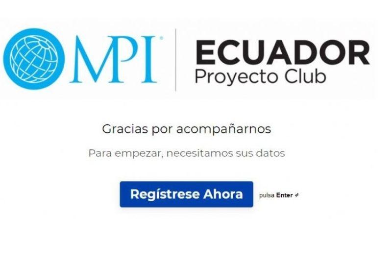 Lanzamiento de MPI Capítulo Ecuador