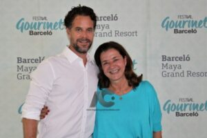 Chef Pedro Abascal y Stefania Ballotta
