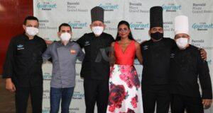 Chefs invitados al evento gastronómico en la Riviera Maya